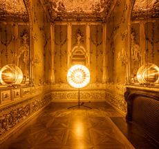 Olafur Eliasson . Baroque Baroque . The Winter Palace of Prince Eugene of Savoy . Wien . Austria