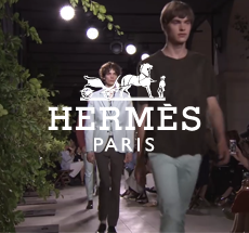 Hermes . man catwalk spring summer 2016