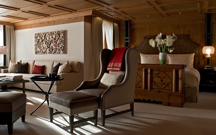 Hotel Alpina Gstaad . Switzerland