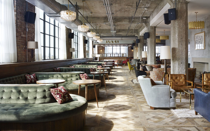 Marvelous Soho House Chicago . USA