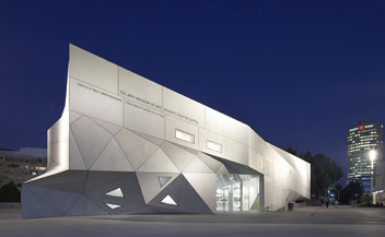 Tel Aviv museum of Art . Herta and Paul Amir Building . Preston Scott Cohen