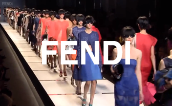 Fendi . fashion show spring summer 2014